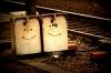 Freundliche Gesichter bei der Bahn